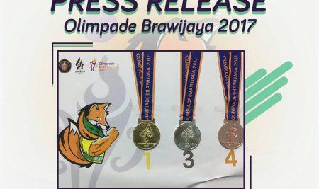 PRESS RELEASE : CLOSING CEREMONY OLIMPIADE BRAWIJAYA 2017