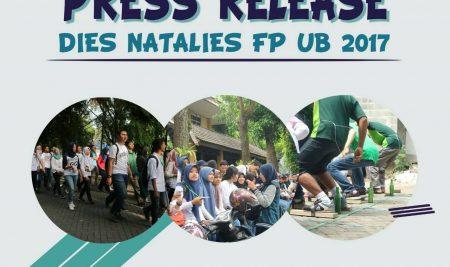[PRESS RELEASE AGRICULTURE VAGANZA : DIES NATALIS FP UB 2017]